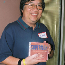 A Superman: The Ultimate Collection CD is won by Richard Ching.